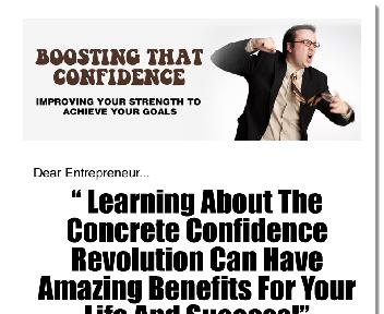 BOOSTING CONFIDENCE Coupon Codes