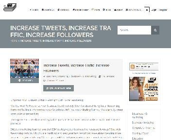Online Course: Increase Tweets,Traffic,Followers discount code
