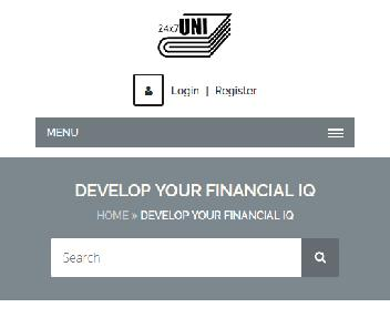 Online Course: Develop Your Financial IQ discount code