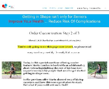 25 Exercises for Seniors Video Resource Kit by HealthBeat Online discount code