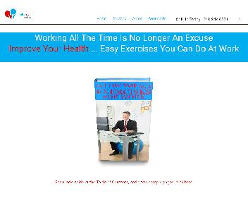 15 Low Impact Exercises for Work by HealthBeat Online discount code