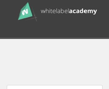 White Label Academy discount code