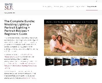 SimpleSLR Photography Guides (Portrait Lighting + Portrait Recipes + Wedding Photography Lighting) discount code