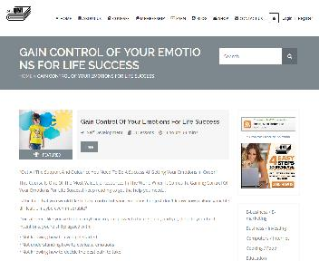 Online Course: Control Of Your Emotions For Life Success discount code