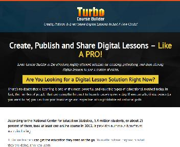 My Turbo Course Builder - Basic Edition discount code
