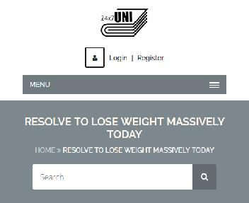 Online Course: Resolve To Lose Weight Massively Today discount code