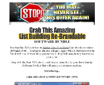3 Brandable Software Templates Special Offer discount code