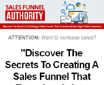 Sales Funnel Authority discount code