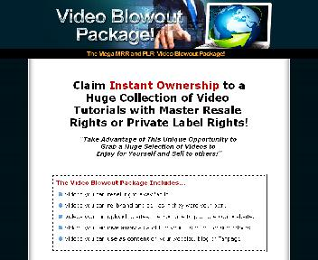 Money PLR and MRR Video Blowout Coupon Codes