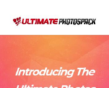 Ultimate Photos Pack discount code