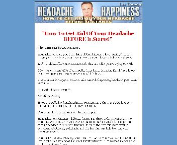 Headache Happiness Coupon Codes