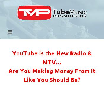 Tube Music Promotions Coupon Codes
