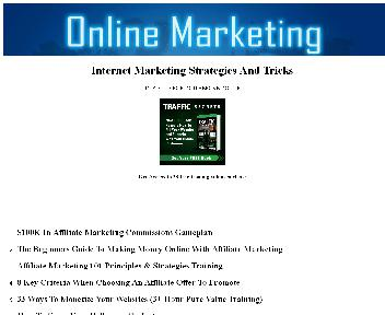 Internet Marketing Strategies And Tricks Coupon Codes