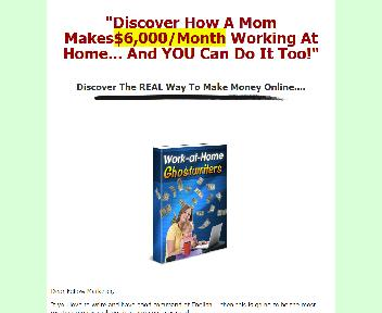 Work At Home Ghostwriters Comes with Master Resale Coupon Codes