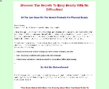 Cheat Sheet For Being Beautiful Coupon Codes