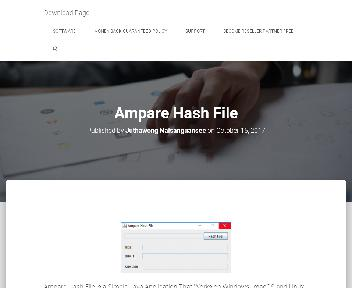 Ampare Hash File Coupon Codes