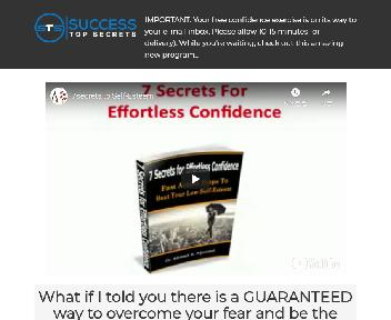 7 Secrets for Confidence Coupon Codes