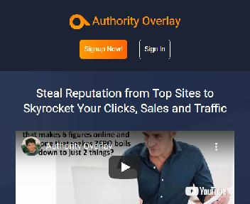 Authority Overlay Coupon Codes