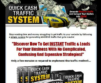 Quick Cash Traffic System Video Series PLR Coupon Codes