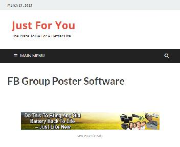 FB Group Poster Software Coupon Codes