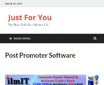 Post Promoter Software Coupon Codes