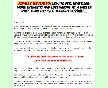 Lifestyle Diet Makeover Comes with Private Label Rights Coupon Codes