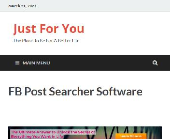 FB Post Searcher Software Coupon Codes