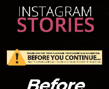Earn Fast Profits With Instacash Stories OTO discount code