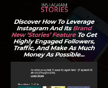 Instagram Stories Master Resell Rights discount code