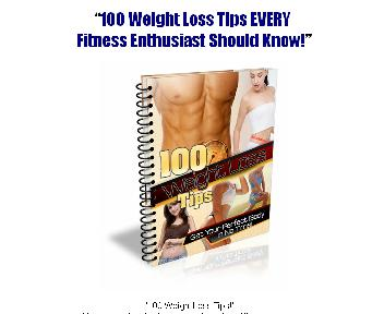 100 Weight Loss Tips discount code
