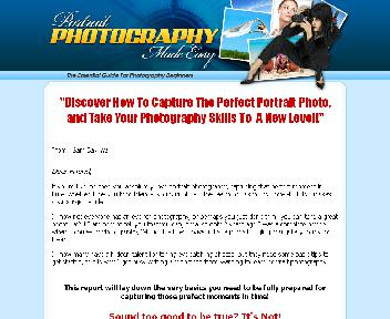 Portrait Photography Made Easy Coupon Codes