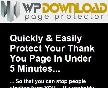 WP Download Page Protector Single Site Coupon Codes