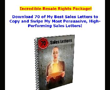 70 Done-4-You PRO IM Sales Letters Copy-N-Paste Coupon Codes