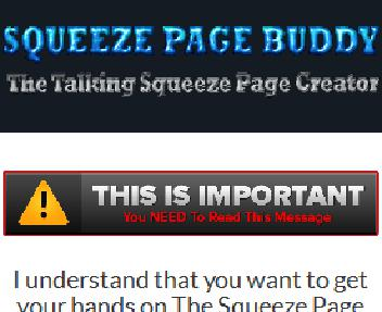 The Squeeze Page Buddy Pro discount code