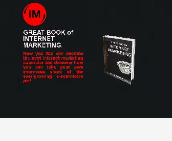 GREAT BOOK of INTERNET MARKETING Coupon Codes