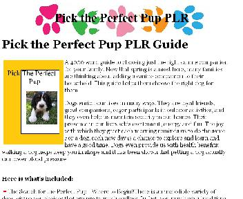 Pick the Perfect Pup Coupon Codes