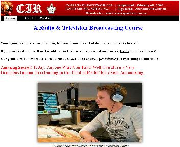 A Radio & Television Broadcasting Course Coupon Codes