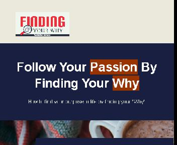 Finding Your Why Coupon Codes