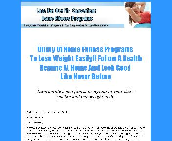 Home Fitness Program Coupon Codes