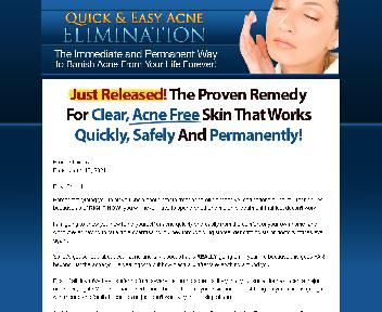 Quick & Easy Acne Elimination Coupon Codes