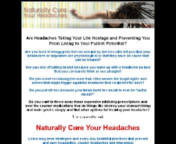 Naturally Cure Your Headaches Coupon Codes
