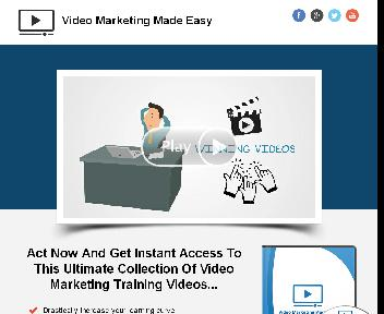 Video Marketing Made Easy Coupon Codes