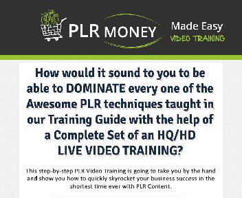 PLR Money Made Easy Coupon Codes