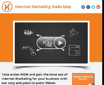 Internet Marketing Made Easy Coupon Codes