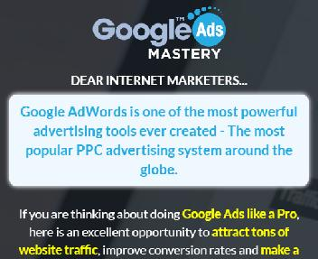 Google Ads Mastery Coupon Codes
