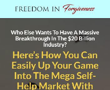 Freedom in Forgiveness Coupon Codes