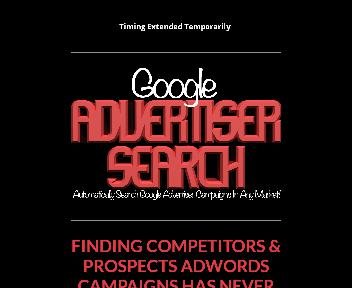 Google Advertiser Search Coupon Codes