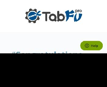 TabfuPro Lifetime Plus Pack Coupon Codes