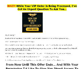 Crypto Secrets Exclusive VIP Video Training Coupon Codes