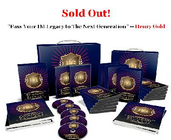Henry Gold's IM Farewell Coupon Codes